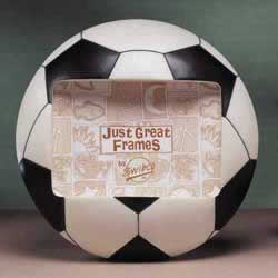 Soccer Ball 3-D Photo Frame