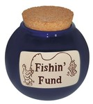 Fishin' Fund Money Jar