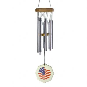 JW Stannard Star Spangled Hand Tuned Wind Chime