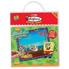 SpongeBob Squarepants Colorforms Fun Pocket