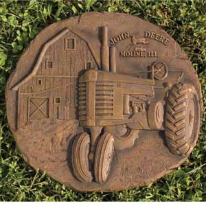 John Deere Rustic Stepping Stone-Discontinued