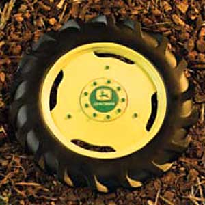 John Deere Tire and Wheel Garden Stepping Stone
