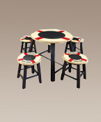Children Life Ring Table & Stools Set