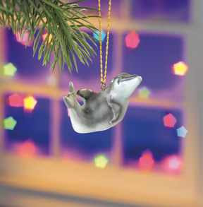 Daphne Dolphin Beasties Ornament