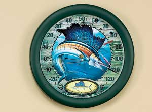 "12"" Sailfish Thermometer John Wright"