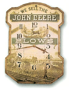 Vintage  Advertisement John Deere Wall Clock *Out of Stock*