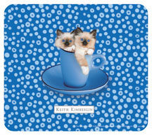 Keith Kimberlin Two Kittens Mousepad
