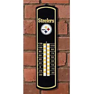 Pittsburgh Steelers NFL Large Wall Thermometer