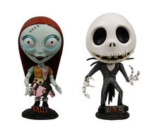Nightmare Before Christmas Jack and Sally Head Knockers