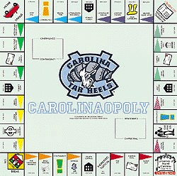 North CarolinaOpoly Monopoly Style Board Game