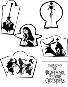 The Nightmare Before Christmas Ceiling Stars