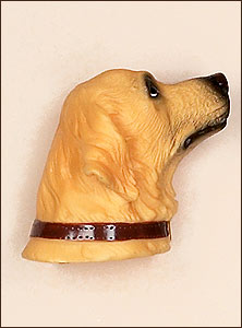 Golden Retriever Dog Antenna Topper