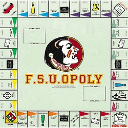 F.S.U. Opoly Florida State University Board Game
