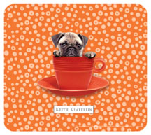 Keith Kimberlin Pug Puppy Mousepad