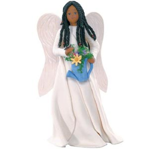 Ebony Love of Life  Kneeded Angel