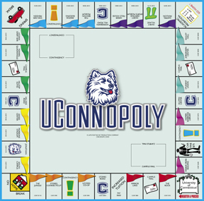 UConn-Opoly College Board Game