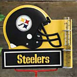 Pittsburgh Steelers NFL Rain Gauge