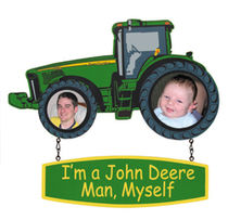 John Deere Childrens Hanging Picture Frame