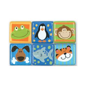 Stephen Joseph Small Talk Animal Magnets (boy)-Discontinued