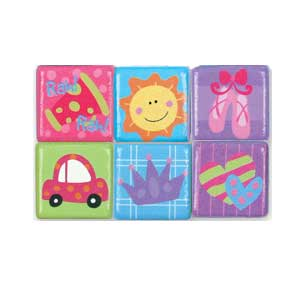 Stephen Joseph Small Talk Sports & Misc. Magnets (girl)