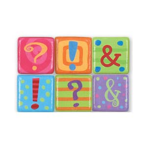 Stephen Joseph Small Talk Punctuation Magnets (punctuation)