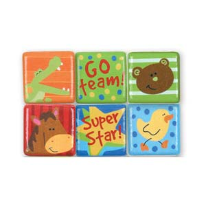 Stephen Joseph Small Talk Words Magnets (boy)