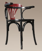 Black and Red Navy Chair