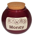 Bingo Money Money Jar Bank