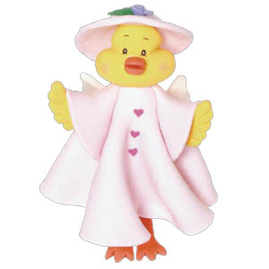 Cloud Hoppers Daisy Duck Ornament