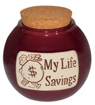 My Life Savings Money Jar