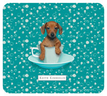 Keith Kimberlin Dachshund Puppy Mousepad