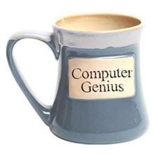 Computer Genius Oversized Coffee Mug