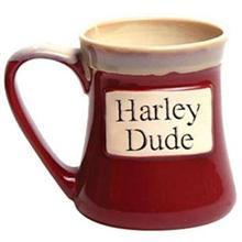 Harley Dude Oversized Coffee Mug