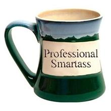 Professional Smartass Oversized Coffee Mug