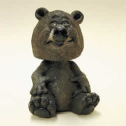 Brown Bear Bobblehead Nodding Figure