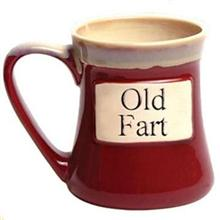 Old Fart Oversized Coffee Mug - OOS