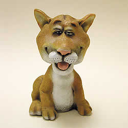 Cougar Bobblehead Figurine by Swibco