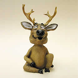 Deer Bobblehead Nodder by Swibco
