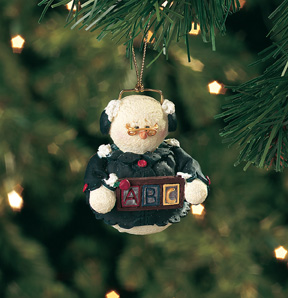 Female Teacher Snowberry Cuties Ornament