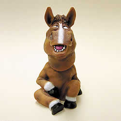 Horse Bobble Head Nodder by Swibco