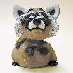 Raccoon Funny Bobblehead by Swibco