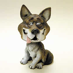 Wolf Funny Bobblehead Animal by Swibco