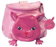 Fun Kidorable Pink Cat Backpack