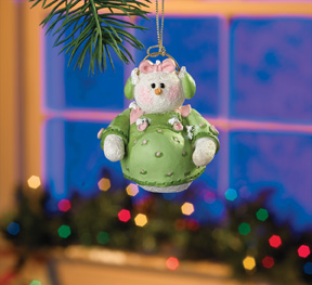 Almost a Mommy Snowberry Cuties Ornament