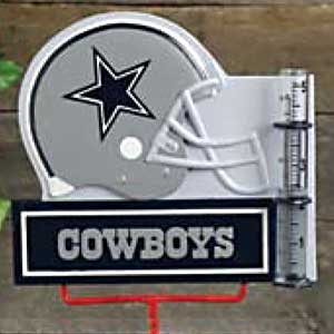 Dallas Cowboys NFL Rain Gauge