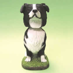 Border Collie Bobblehead Dog