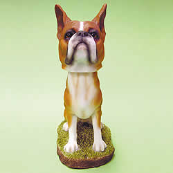 Boxer Bobblehead Dog by Swibco