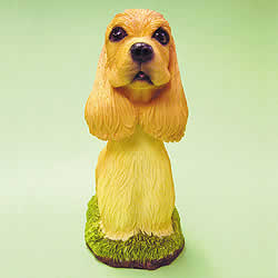Cocker Spaniel Dog Bobblehead