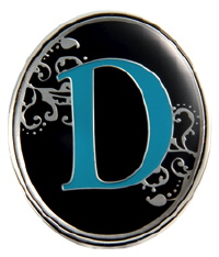 """D"" Monogrammed Key Finder - Finders Key Purse"
