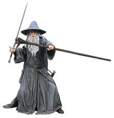 """Lord of the Rings Gandalf 20"""" Figure with Sound"""
